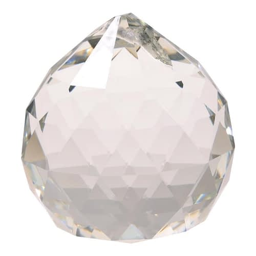 Feng-Shui Crystal Sphere Clear AAA Quality small