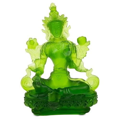Green Tara transparent green