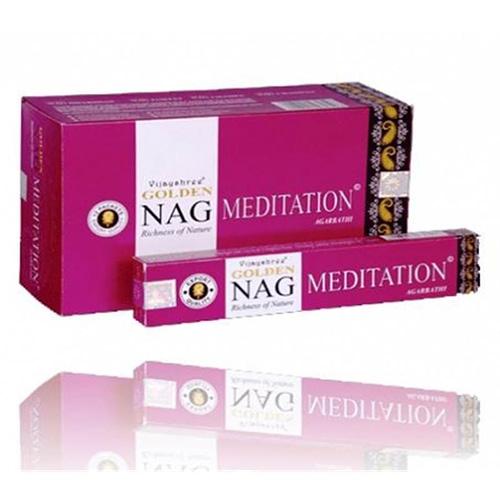 Incense Golden Nag Meditation