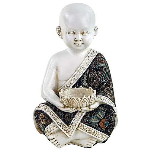 Kleiner Mönch mit Teelichthalter