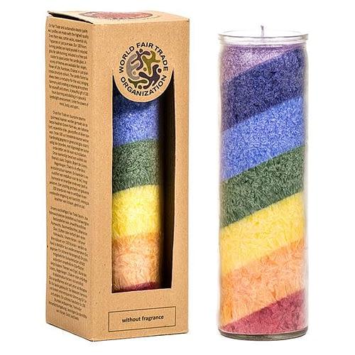 Fairtrade stearine kaarsen