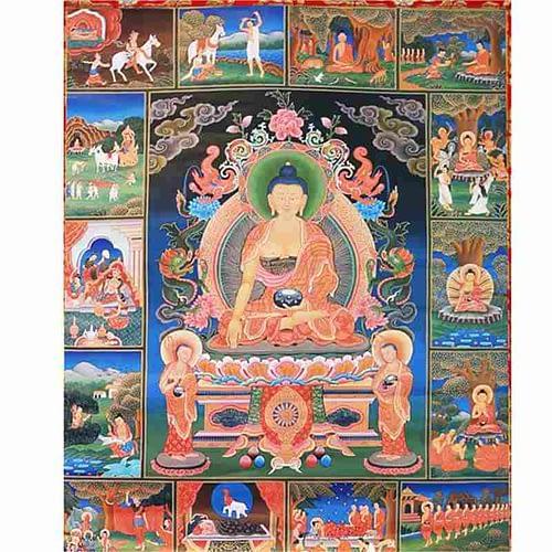 Thangka reproduction Buddha's life story