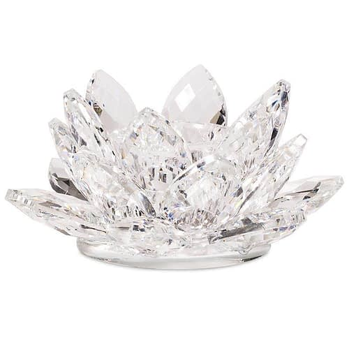 Éclairage d'ambiance Lotus cristal