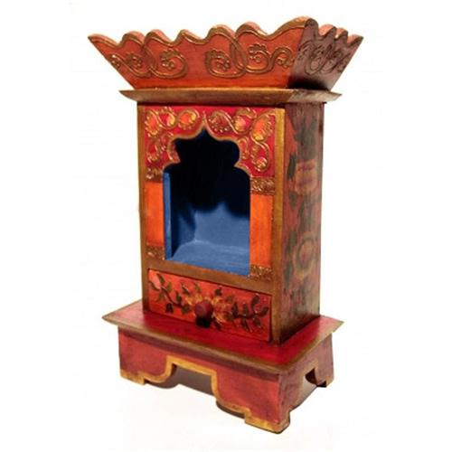 Altare sur table avec tiroir bois