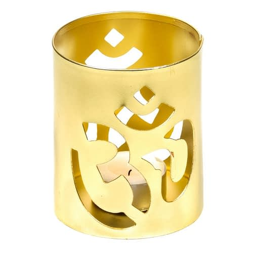 Fair Trade Atmospheric lighting Ohm gold colour 4 pieces