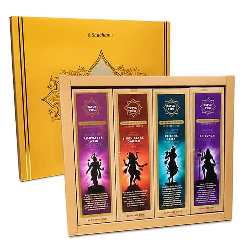 Wierook giftbox Hindoe goden