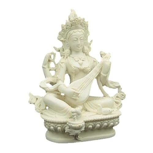 Saraswati white