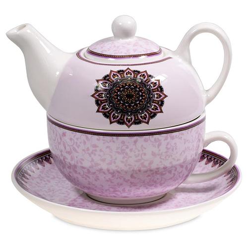 Tea for One Mandala purple