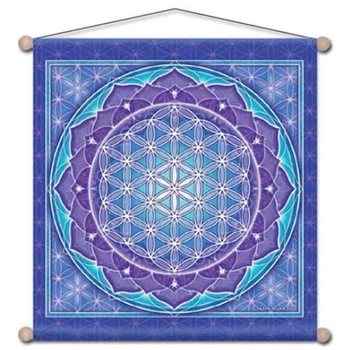 Meditation banner Flower of life