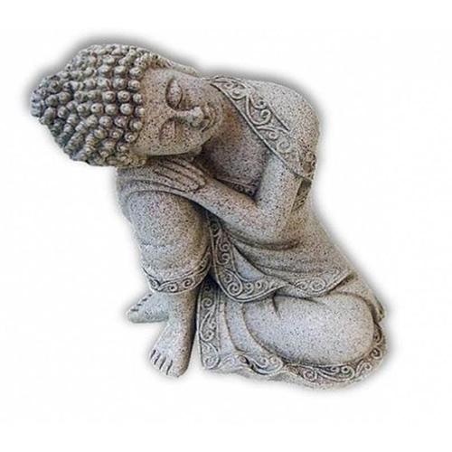 Peaceful Buddha grey colour
