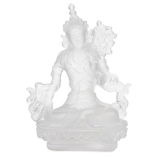 White Tara transparent white