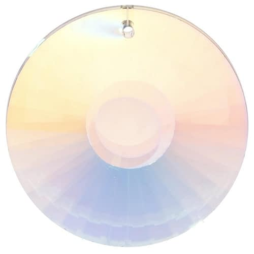 Sun Catcher Crystal Circle bright pearl AAA Quality