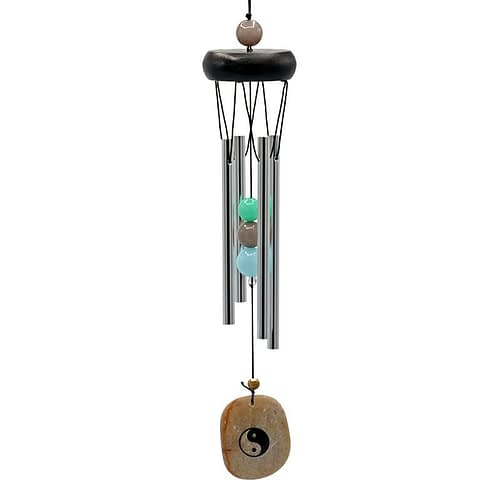 Wind chime four chimes with yin yang wind catcher