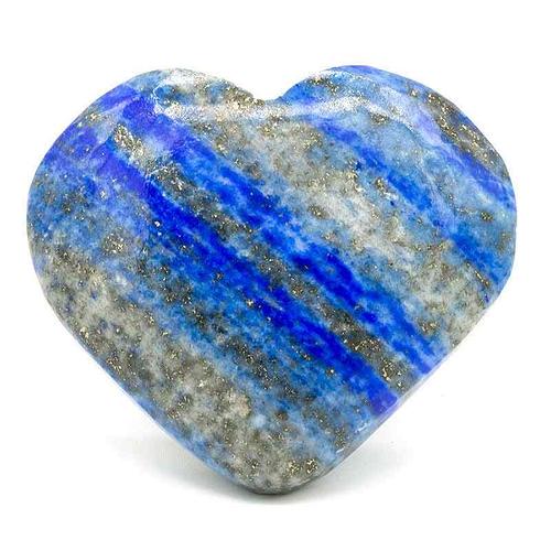 Lapis Lazuli heart-shaped hug stone
