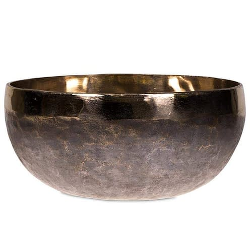 Klangschale Ishana schwarz/gold 34 cm
