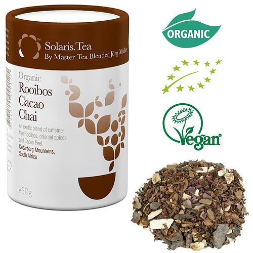 Solaris Organic Rooibos Cacao Chai loose tea