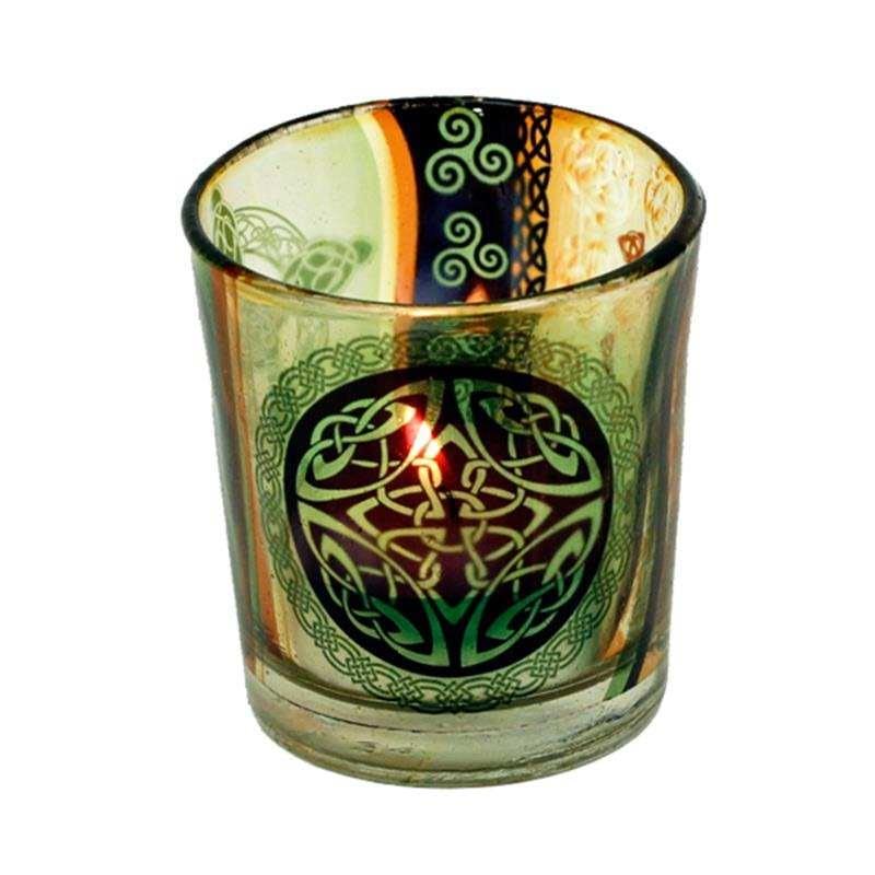 Candle light holder Celtic knot