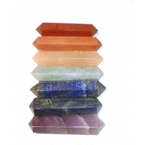 Chakra 7 stone SET for massage