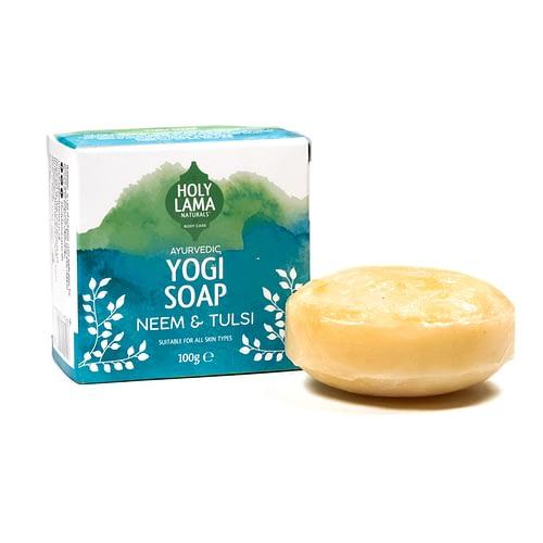 Holy Lama Natural Neem & Tulsi Seife Yogi 100 g