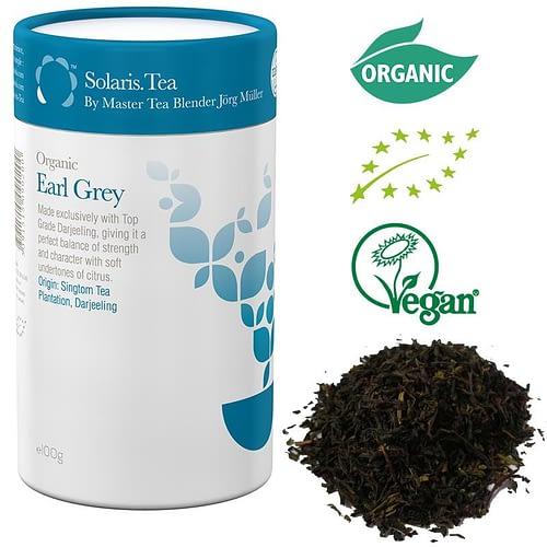 Solaris Organic Earl Grey Tea loose leaves