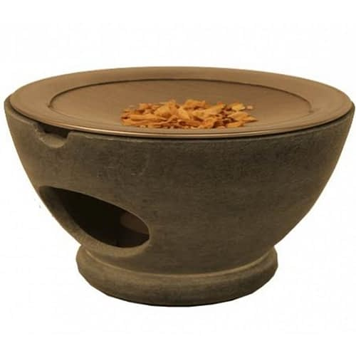 Incense burner Maroque grey with sieve