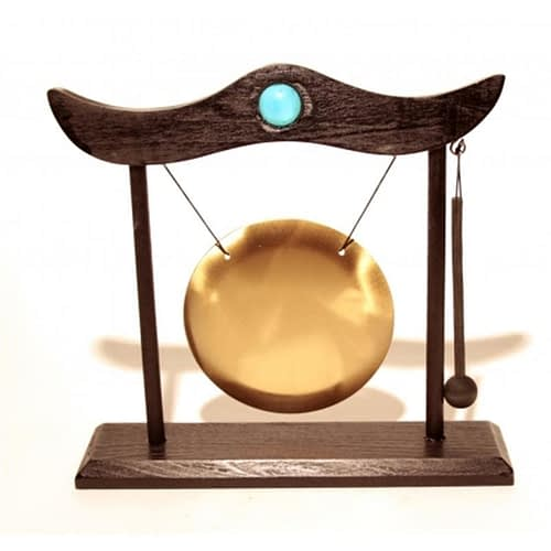 Table Chime with wooden frame and sounder