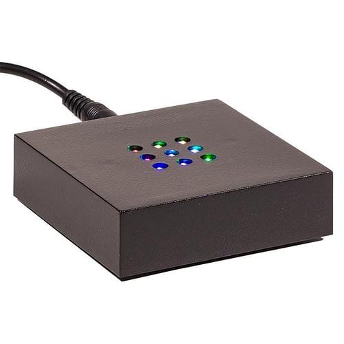 LED-Basis mit wechselndem farbigem Licht