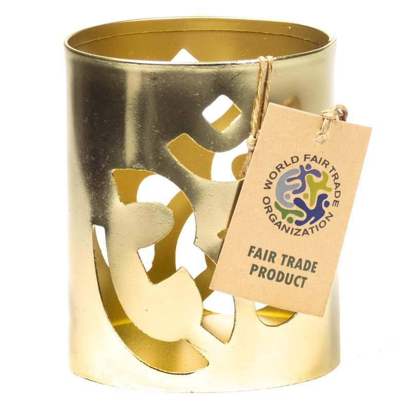 Fair Trade Atmospheric lighting Ohm gold colour 4 pieces