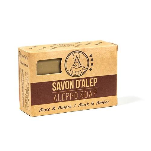 Seife Aleppo Amber/Moschusduft 100 g