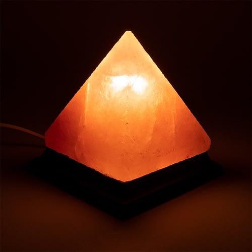 Salzkristall-Lampe Pyramide