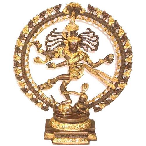 Shiva Nataraj brass two-colour medium