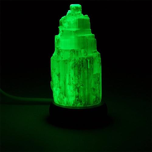 Mini Mood Selenite Lamp white USB