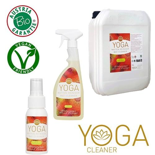 Planet Pure Nettoyant tapis yoga certifié bio Orange sanguine