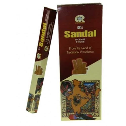 Agarbatti hexagram incense