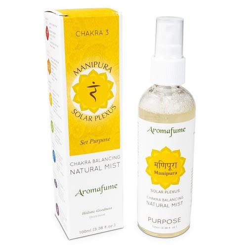 Aromafume natuurlijke luchtverfrisser 3e chakra 3 stuks