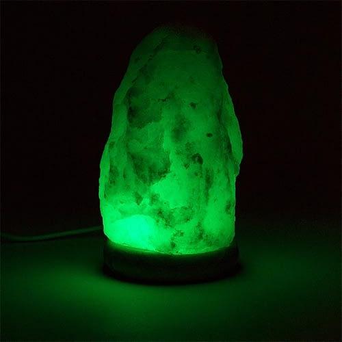 Mood Saltlamp white USB + LED