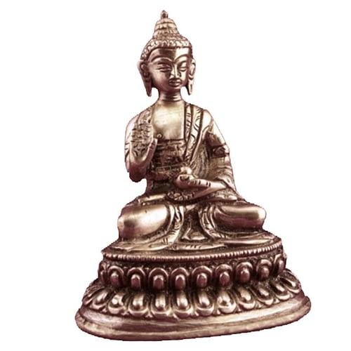 Mini statuette Buddha Amogasiddhi