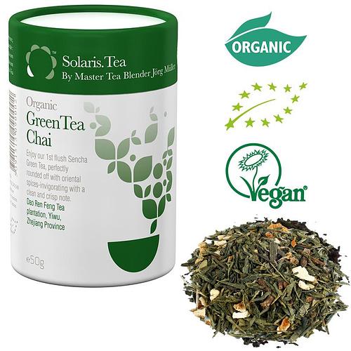 Solaris Organic Green Tea Chai loose tea