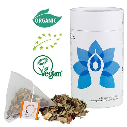 Solaris Thé organique chakra de la gorge