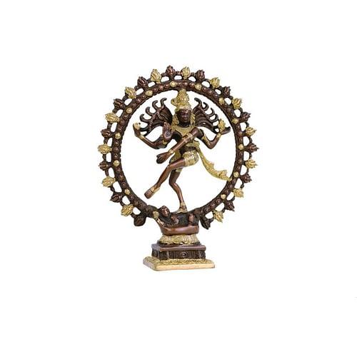 Shiva Nataraj brass two-colour larger