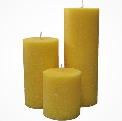 Ambachtelijke Rustieke Stompkaarsen
