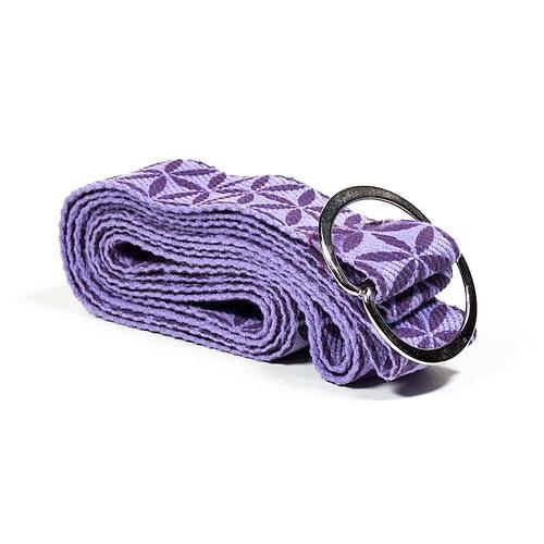 Yogagurt D-Ring Blume des Lebens
