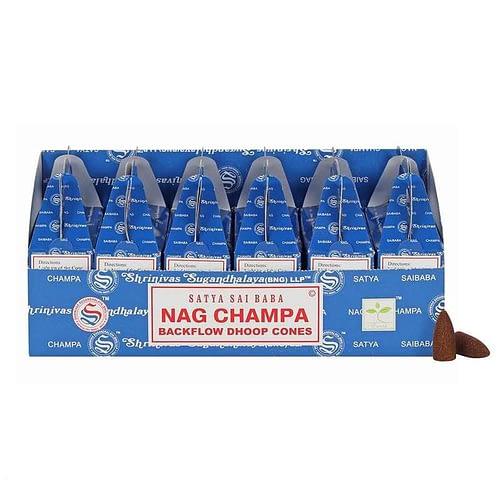 Nag Champa backflow incence cones