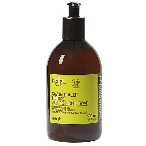 Najel Aleppo Flüssigseife in Pumpflasche biologisch 500 ml