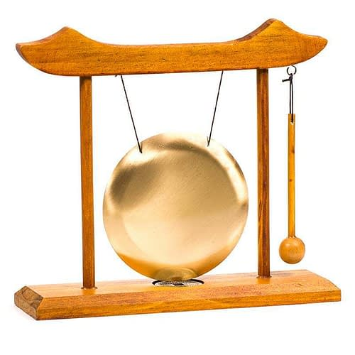 Table Chime with redwooden frame and sounder
