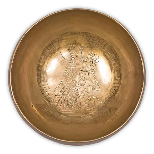 Tara Buddha Healing Singing Bowl 13 cm