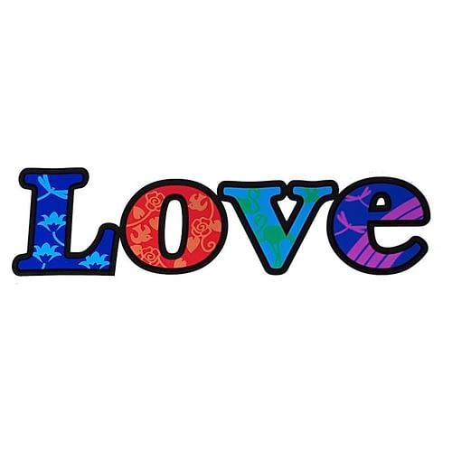 Fensterbild Love