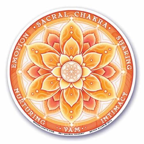 Window Sticker 2nd Chakra