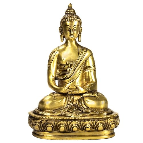 Buddha Amithaba statue single-coloured