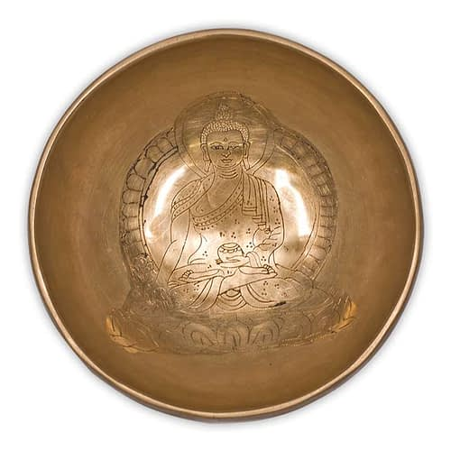 Singing bowl Medicine Buddha 12 cm